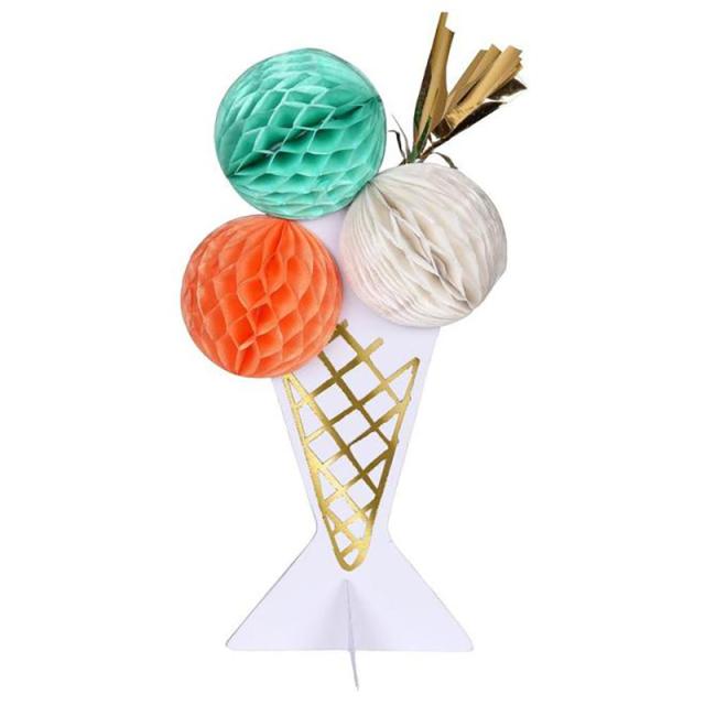 Meri Meri/シングルカード/Ice Cream Honeycomb Card