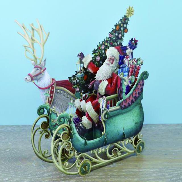 ミーアンドマックキュー/シングルカード/Santa's Sleigh