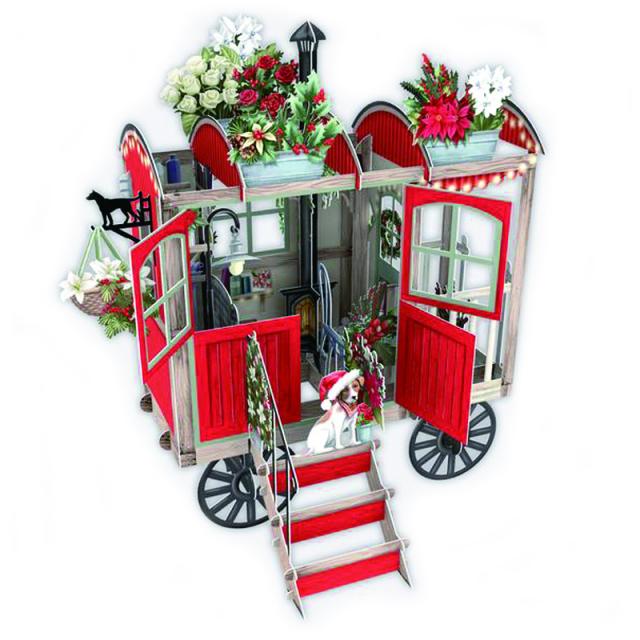 ミーアンドマックキュー/シングルカード/Christmas Hut