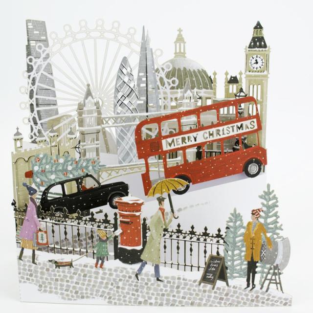 ミーアンドマックキュー/シングルカード/London Laser Landscape