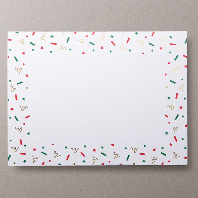 Mount Street Printers/ボックスカード/Christmas Party Photo Mount