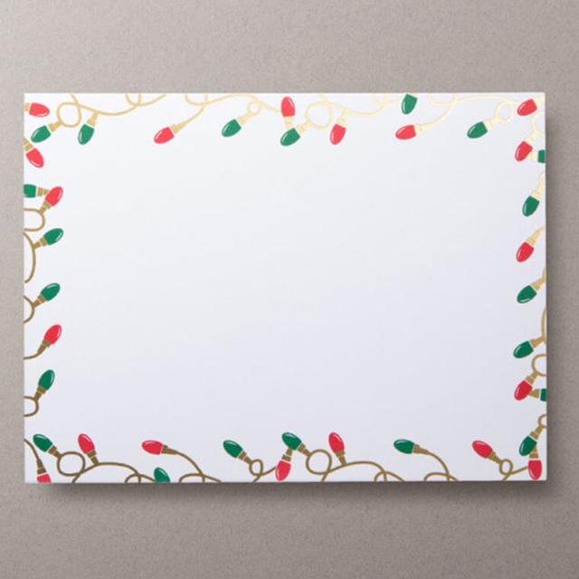 Mount Street Printers/ボックスカード/Christmas Lights Photo Mount