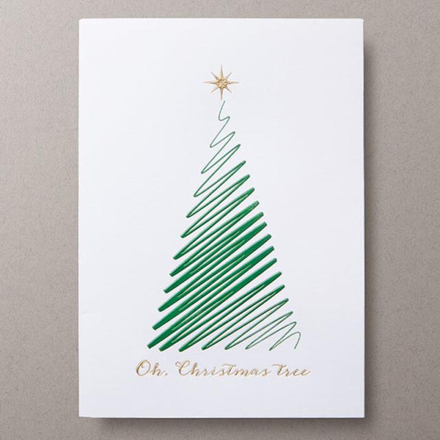 Mount Street Printers/ボックスカード/Oh Christmas Tree
