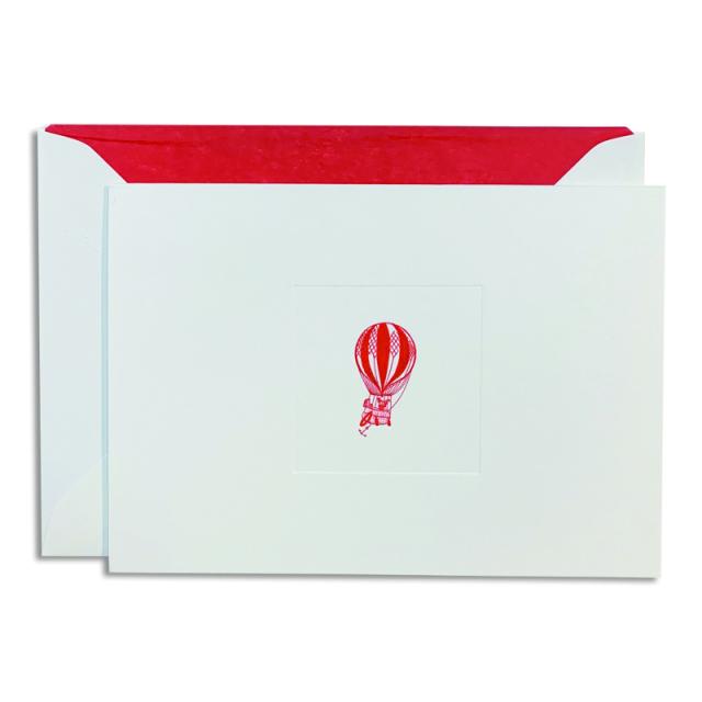 Mount Street Printers/ボックスカード/Hot Air Balloon on Oyster Correspondence