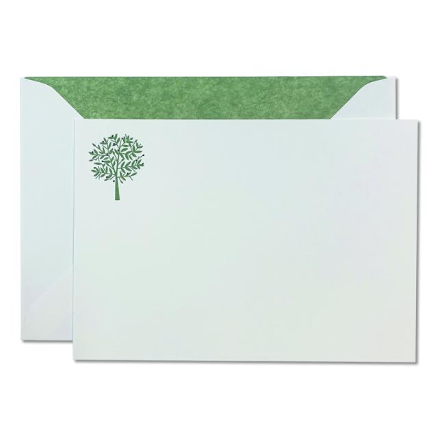 Mount Street Printers/ボックスカード/Olive Tree Correspondence Cards