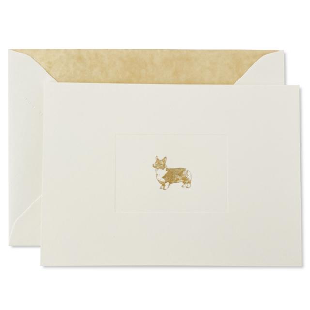 Mount Street Printers/ボックスカード/Corgi Folded Correspondence Cards
