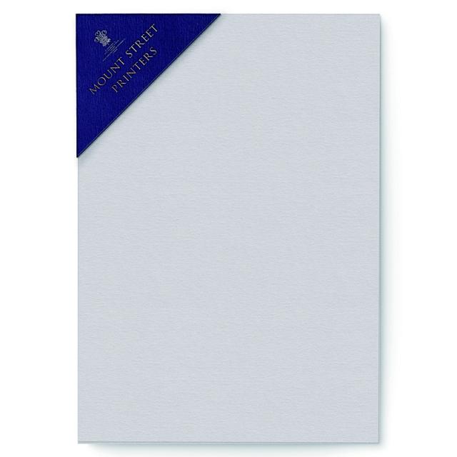 Mount Street Printers/便箋/A5 Writing Sheets Sets- Pale Grey
