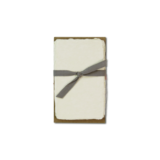オブレイション/カード/6 Cream Business Cards