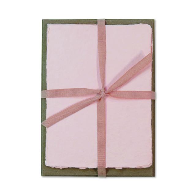 オブレイション/ボックスカード/6 Blush Cards with 6 Kraft Envelopes