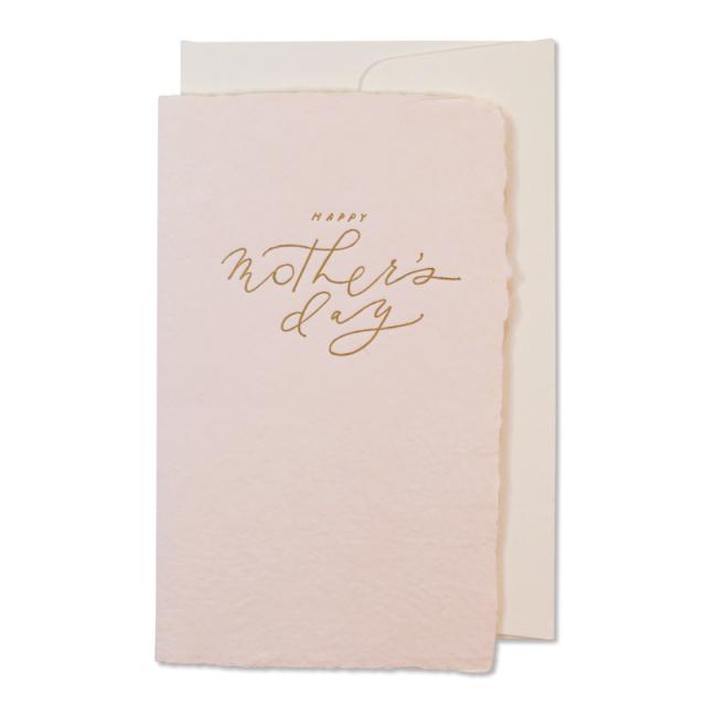 オブレイション/シングルカード/Happy Mother's Day- Calligraphy