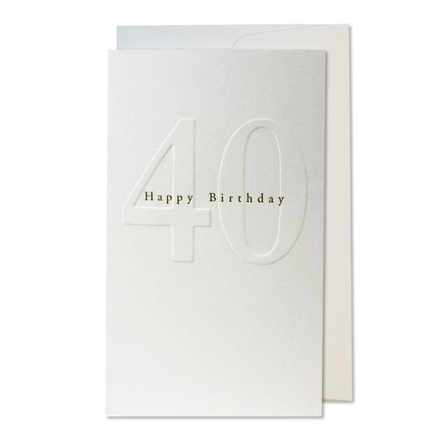 オブレイション/シングルカード/Gilded 40th Birthday