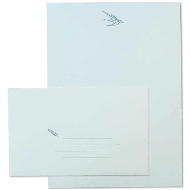 オブレイション/レターセット/Bird Motif Letter Set