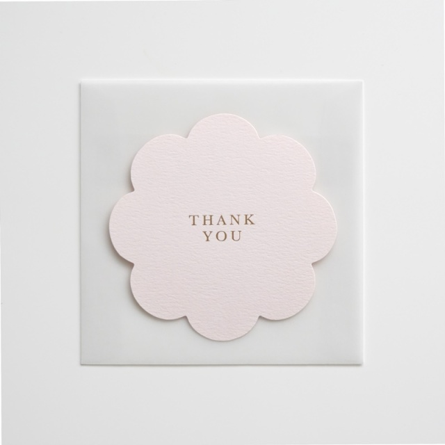 Oh So Pretty Letters/シングルカード/Thank You