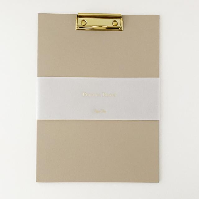 Paper Tree Original/カリグラフィー/Practice Board - Beige