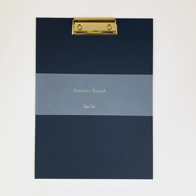 Paper Tree Original/カリグラフィー/Practice Board - Navy