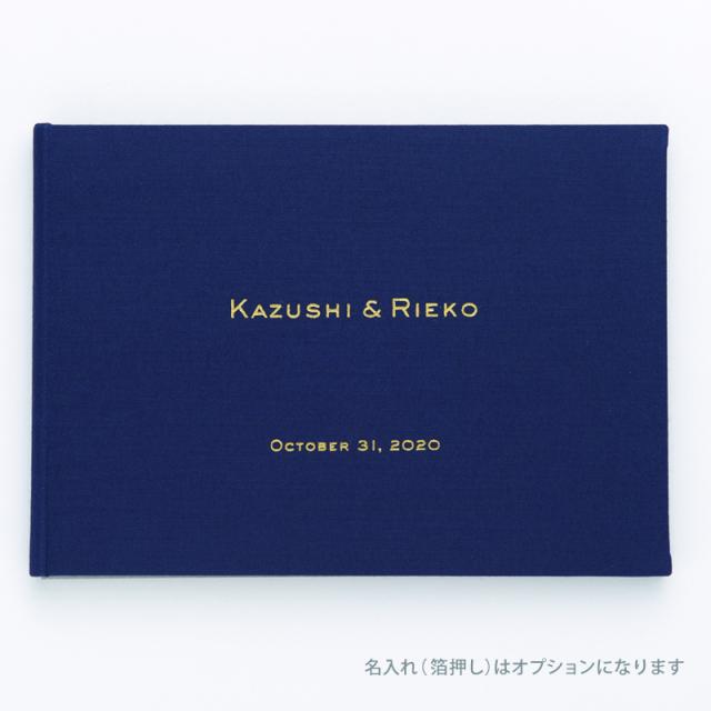 Paper Tree Original/芳名帳・ゲストブック/Navy