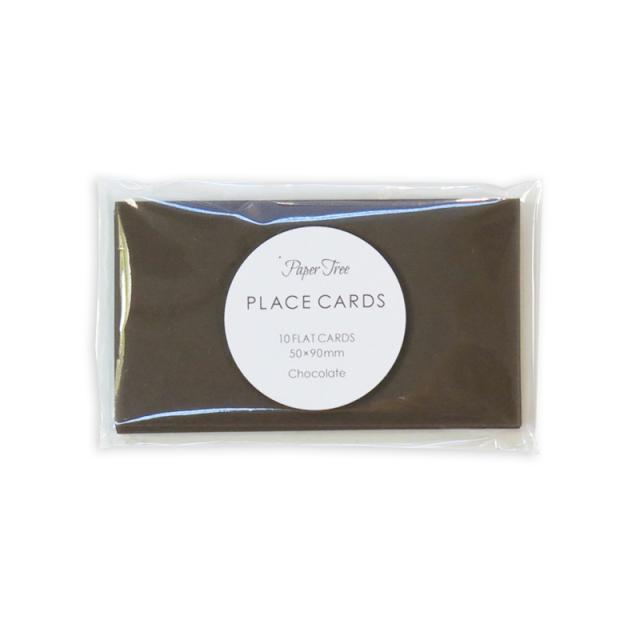ペーパーツリー/ネームカード/Colorplan (Chocolate)