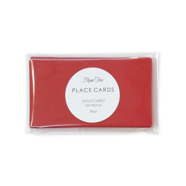 ペーパーツリー/ネームカード/Colorplan (Red)