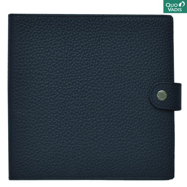 クオバディス/ダイアリー/Leather Cover [Taurillon] 16×16: Marine