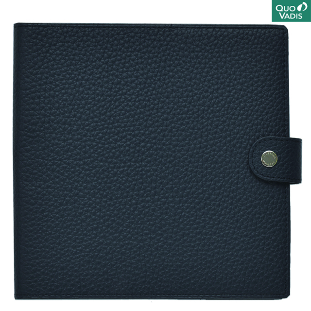 Quo Vadis/ダイアリー/Leather Cover [Taurillon] 16×16: Marine