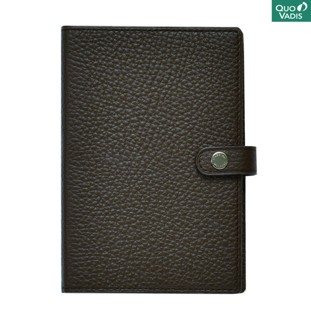 クオバディス/ダイアリー/Leather Cover [Taurillon] 10×15: Cacao