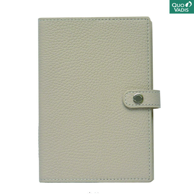 Quo Vadis/ダイアリー/Leather Cover [Taurillon] 10×15: Ecru
