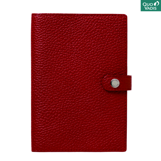 Quo Vadis/ダイアリー/Leather Cover [Taurillon] 10×15: Rosso