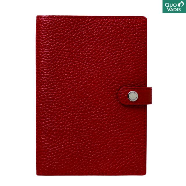 クオバディス/ダイアリー/Leather Cover [Taurillon] 10×15: Rosso