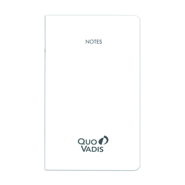 Quo Vadis/ダイアリー/Note Set 10×15: White