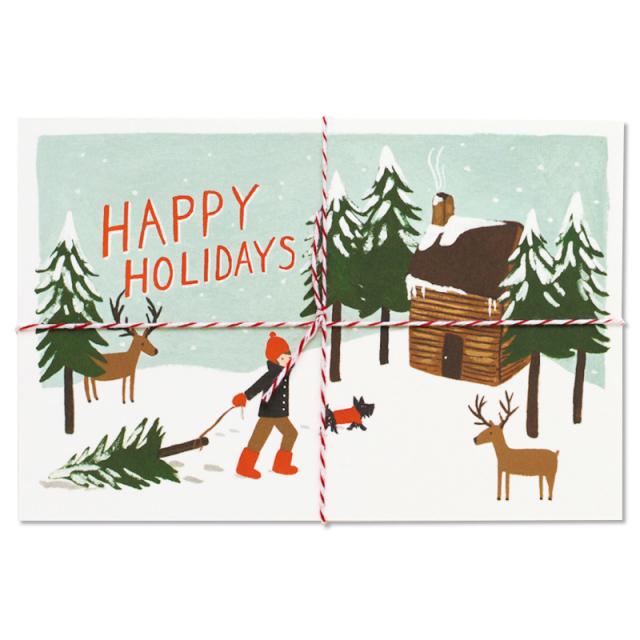 クリスマスカードボックス