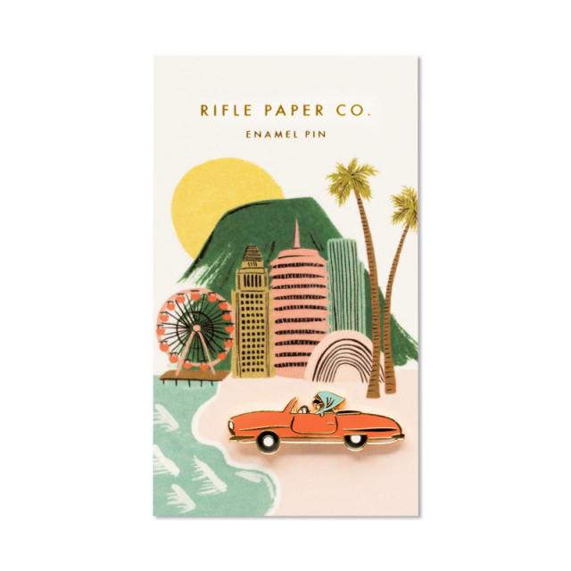 ライフルペーパー/ピン/Enamel Pin-Open Car