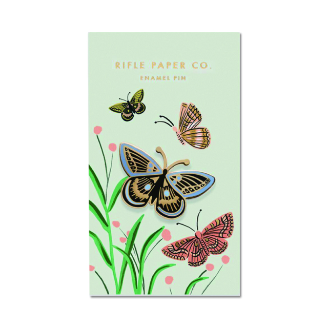 Rifle Paper/ピン/Butterfly