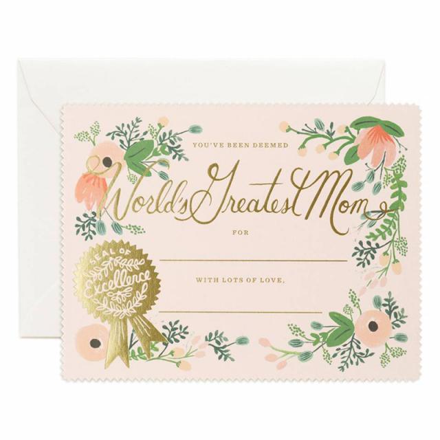 母の日カード