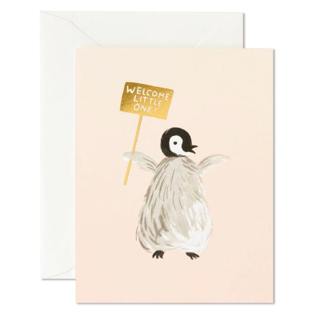 ライフルペーパー/シングルカード/Welcome Penguin