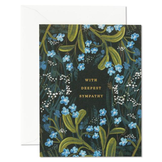 Rifle Paper/シングルカード/Sympathy Bouquet