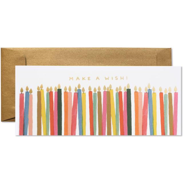 Rifle Paper/シングルカード/Make A Wish Candles