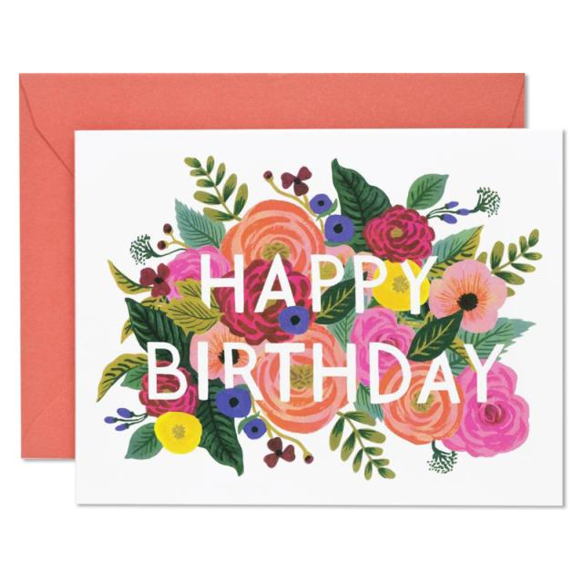 ライフルペーパー/シングルカード/Juliet Rose Birthday