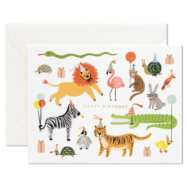 ライフルペーパー/シングルカード/Party Animals