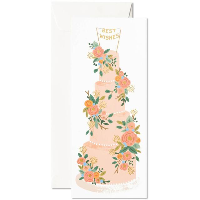 ライフルペーパー/シングルカード/Tall Wedding Cake