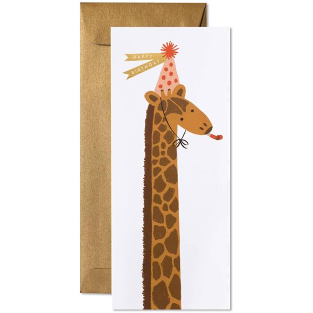 ライフルペーパー/シングルカード/Birthday Giraffe
