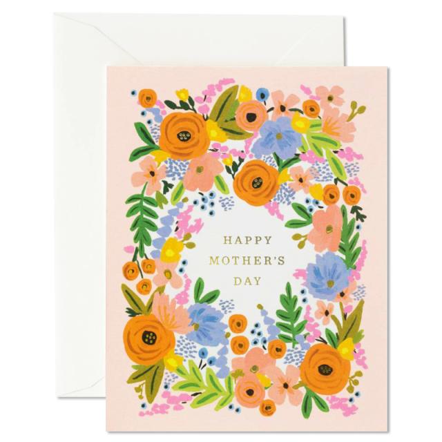ライフルペーパー/シングルカード/Floral Mother