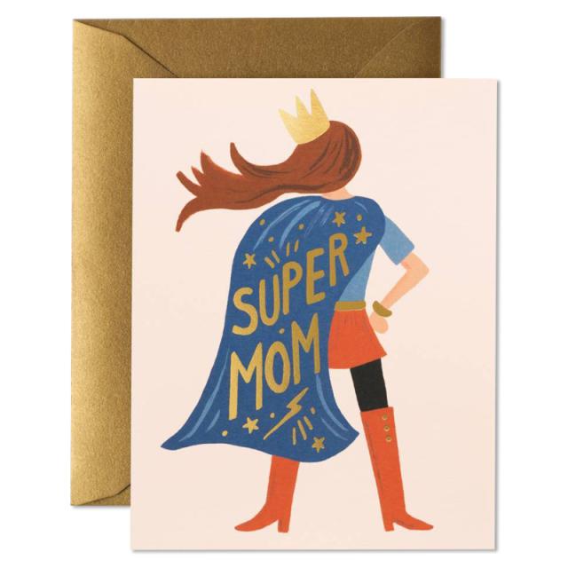 Rifle Paper/シングルカード/Super Mom