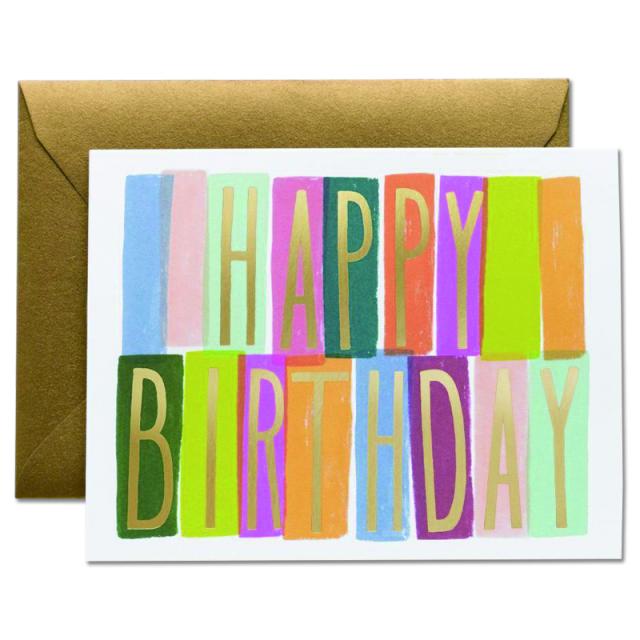 ライフルペーパー/シングルカード/Merida Birthday
