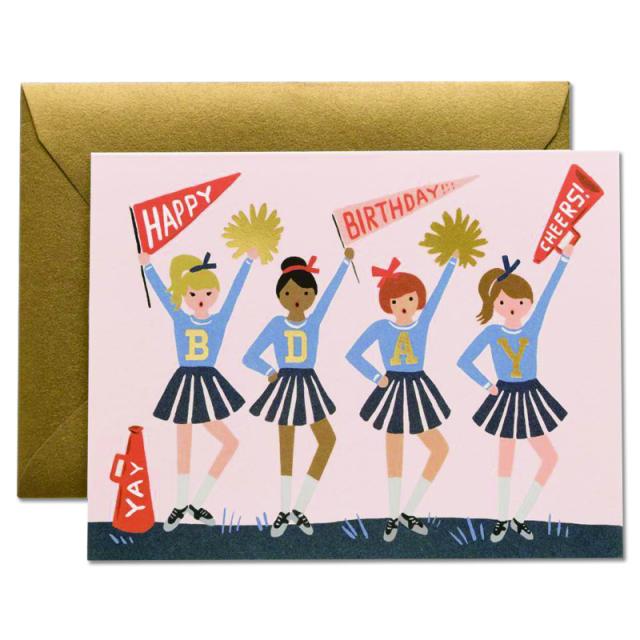 Rifle Paper/シングルカード/Birthday Cheerleaders