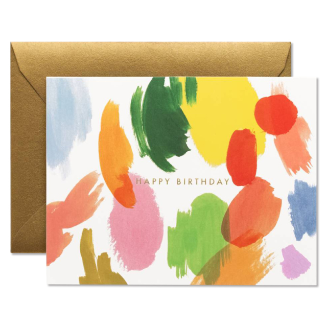 Rifle Paper/シングルカード/Palette Birthday