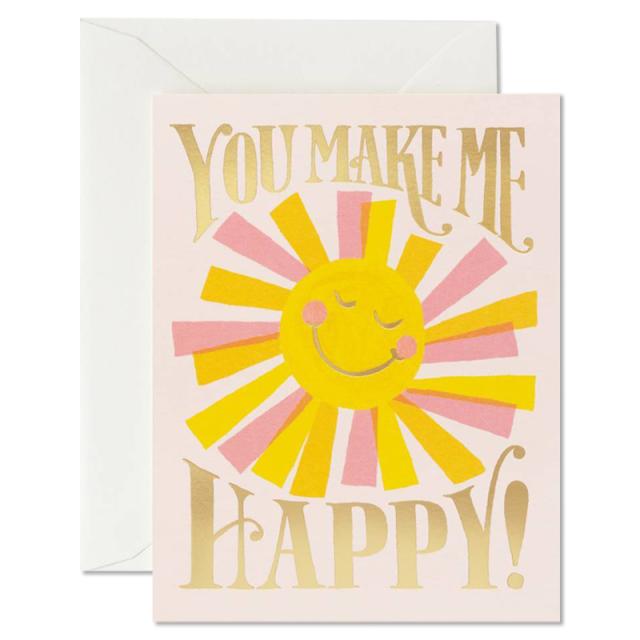 Rifle Paper/シングルカード/You Make Me Happy