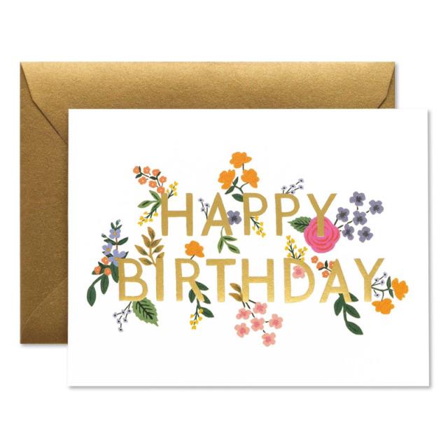Rifle Paper/シングルカード/Wildwood Birthday