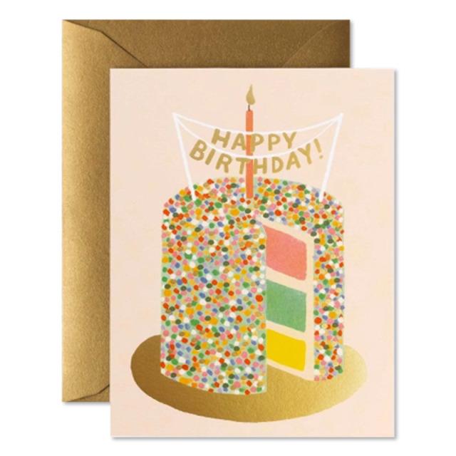 Rifle Paper/シングルカード/Layer Cake Birthday