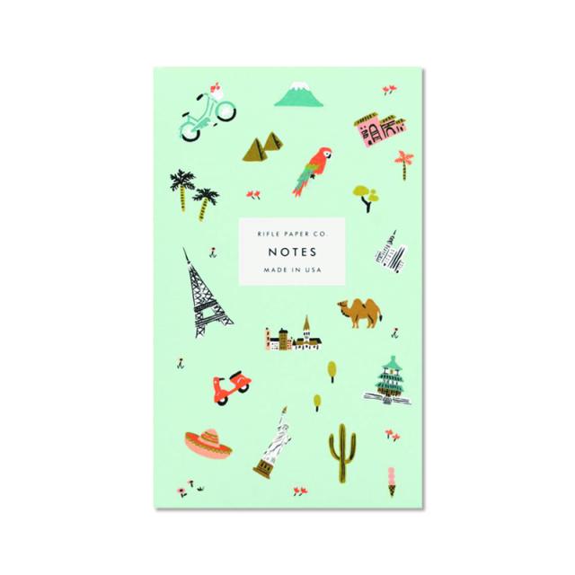 ライフルペーパー/ポケットノートパッド/Wanderlust Pocket Notepad