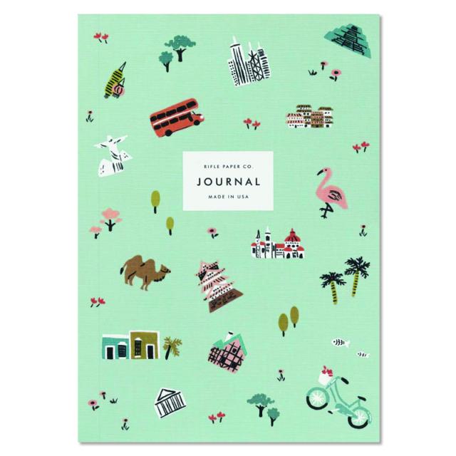 ライフルペーパー/ノートブック/Wanderlust Travel Notebook